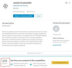 Junior Economist