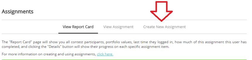 assignment create