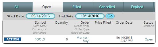 mfund order